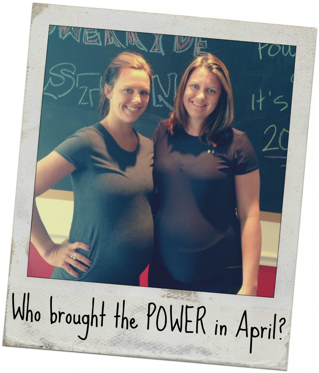Who Brought the POWER in April?